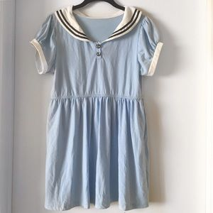 Sailor baby doll dress/tunic