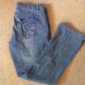 Girl's Plus Size Total Girl Denim Jeans