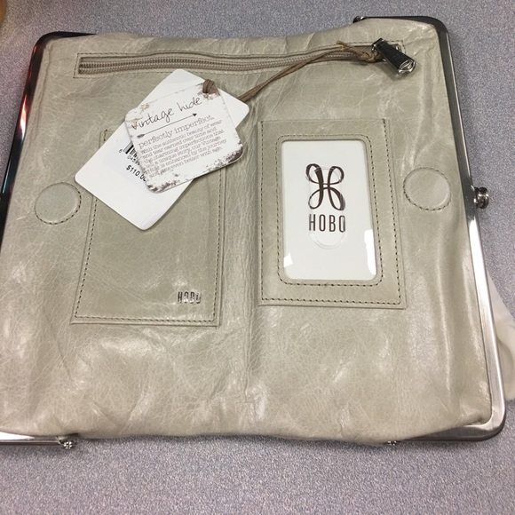 Hobo Bags Lauren Double Frame Clutch Wallet Linen Color Poshmark