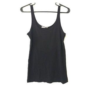 Hinge Tops - Hinge Soft & Stretchy Basic Black Tank Top