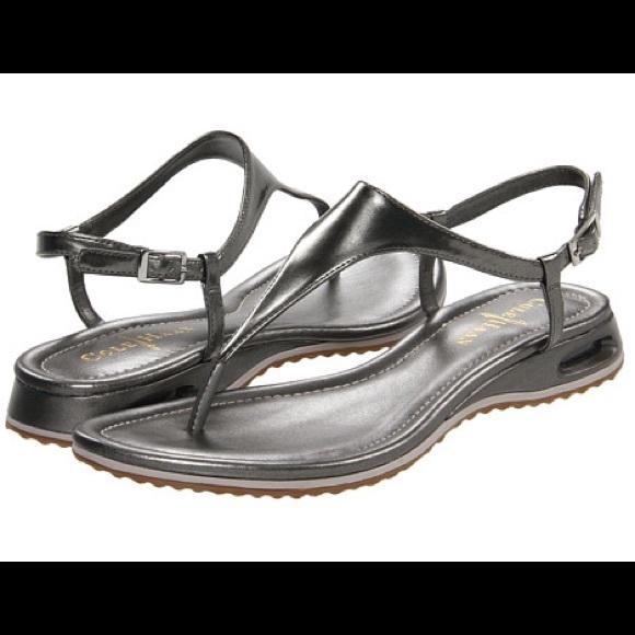 ba5badec8 Cole Haan Shoes - Final Price Cole Haan Metallic Nike Air Sandal
