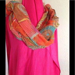 Paisley Multi Color Scarf