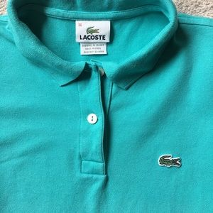 Lacoste Tops - Lacoste short sleeve polo shirt. Sz 36 (S)