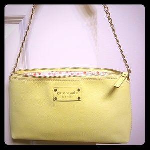 Kate Spade Byrd Wellesley Citronella shoulder bag