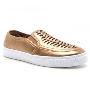Friendsnfashion Boutique Shoes - 🆕List! 💫 Bronze Leather Loafers! NEW!