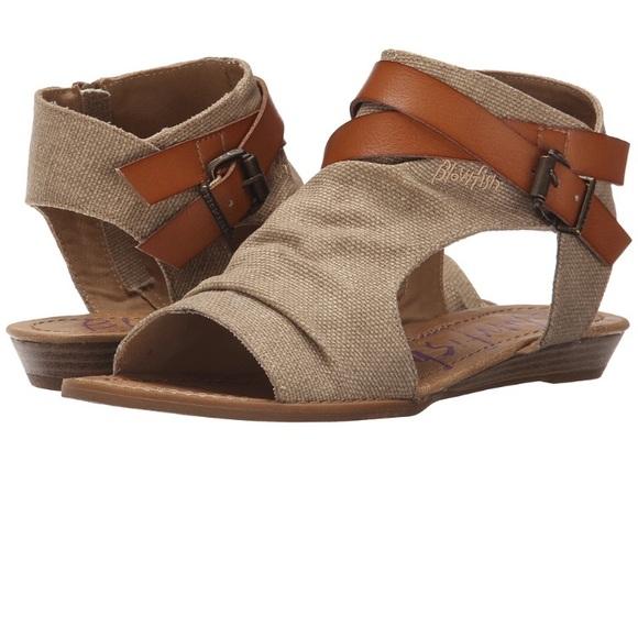 2dad4fa636a2 Blowfish Badey Flat sandal