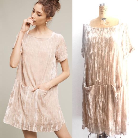 e79466d93971 Anthropologie Dresses & Skirts - Anthropologie Crushed Velvet Dress