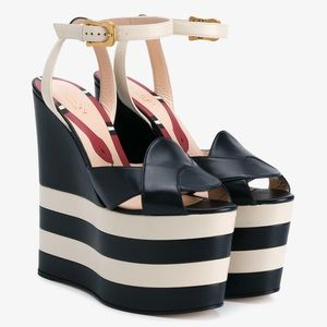 Gucci Shoes - New Gucci wedges sz 7