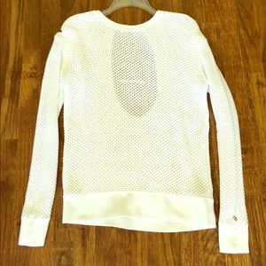 CALIA by Carrie Underwood Sweaters - White Calia Open Back Sweater