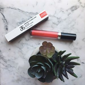 {arbonne} 🌿 larkspur glossed over lip gloss