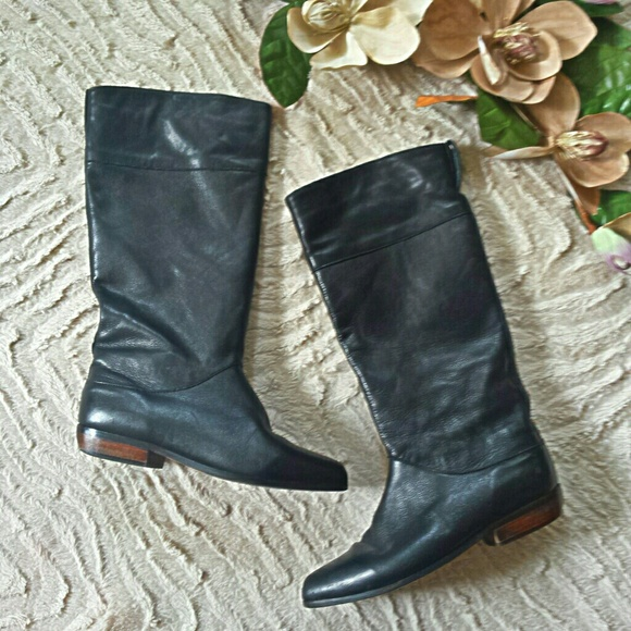 73 vintage shoes made in canada soft leather thigh