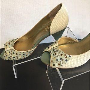 Seychelles Shoes - Seychelles Polka Dot Heels