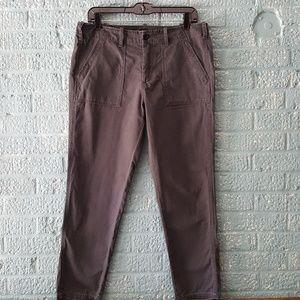 G1 Goods Pants - G1 Goods Washed Black Surplus Crop Pants