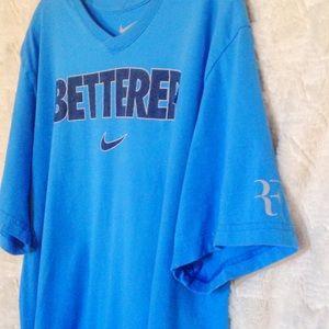 Nike Shirts - NikeRoger Federer Betterer V-Neck T-Shirt ce2cb2ddc