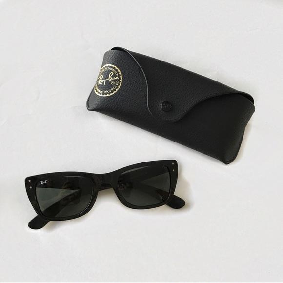 313238d074 Ray Ban Caribbean RB4148 Cat Eye Sunglasses. M 5942f0864e95a319480006f5