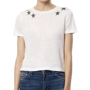 360 Cashmere Tops - Mili white.olive Star