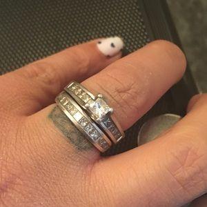 Jewelry - Engagement Ring & Wedding Band