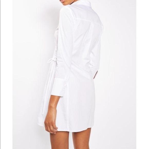 55 off topshop dresses skirts topshop crisp white for Crisp white dress shirt