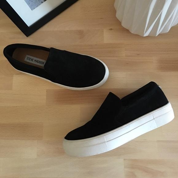 8927076ffbd STEVE MADDEN Gills Platform Slip-On Sneaker