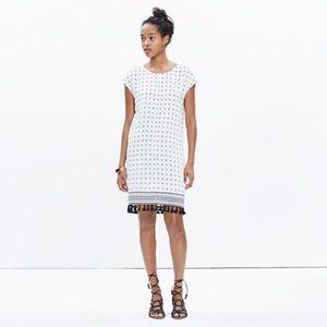 NWT Madewell scatterblock shift dress XS