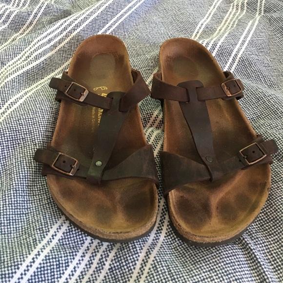 685e5f2cfe23 Birkenstock Shoes - Birkenstock Larisa T-Strap Sandle Size 41