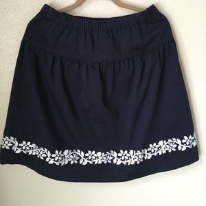 Oscar de la Renta Dresses & Skirts - NWOT Oscar Embroidered Skirt