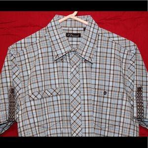 7 Diamonds Other - 7 Diamonds button down XL short sleeve shirt