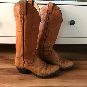 Vintage Cowboy Cowgirl boots