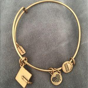 Alex And Ani Jewelry - GOLD Alex and Ani graduation bracelet.