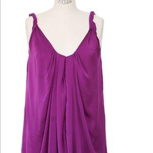 Diane Von Furstenberg Tops - Diane von Furstenberg purple top, never been worn