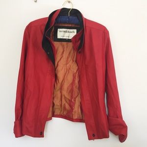 Supersoft Red Leather Jacket