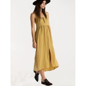 Whimsy + Row Dresses & Skirts - Whimsy + Row Gold Jane Dress