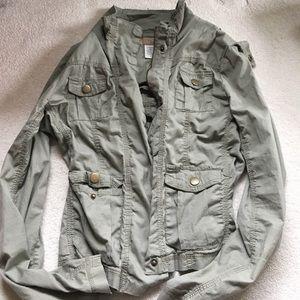 Angel Kiss Jackets & Blazers - Green army jacket