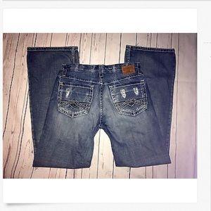 Men's BKE Low Rise TYLER Boot Leg Jeans! 32 x 33