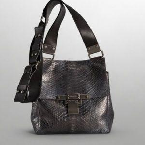 Kenneth Cole Handbags - Kenneth Cole Simply Riveting Crossbody Pewter NWT