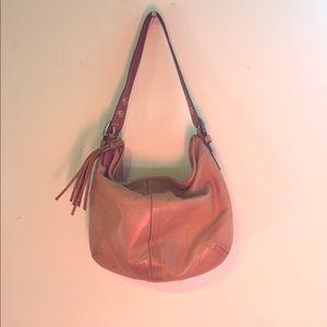 Coach Handbags - Coach Leather Shoulder Bag