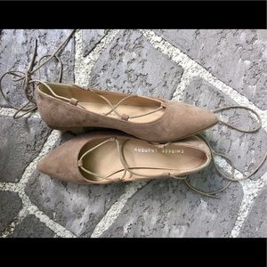 Chinese Laundry Shoes - REDUCED ⬇️ Chinese Laundry Lace Up Flats