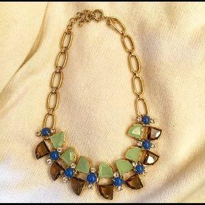 J. Crew Jewelry - NWOT Bold J. Crew Crystal Necklace