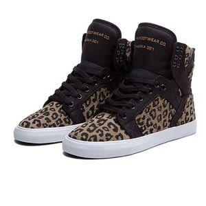 Supra Shoes - Women's Supra Skytop Cheetah