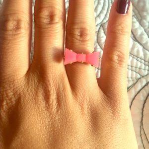 Kate Spade Pink Bow Ring