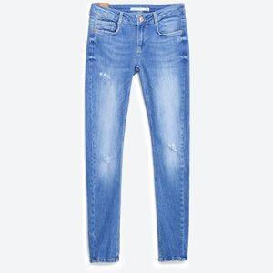 Zara push up jeans