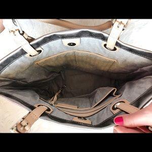 Michael Kors Bags - Michael Kors Metallic Logo Tote