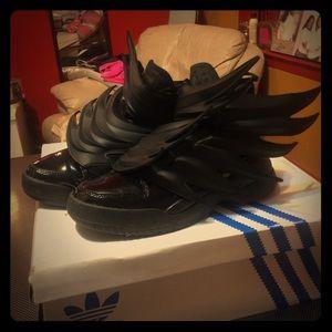 Jeremy Scott x Adidas Other - Jeremy Scott Adidas Dark Knight Limited Edition