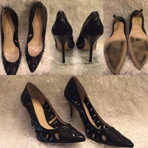 Enzo Angiolini 4' Black Heels Size 9.5