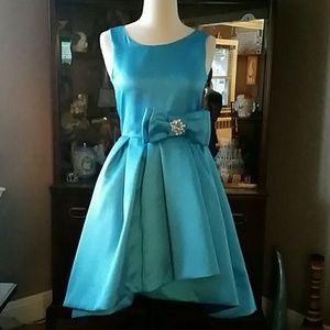 Zoe Ltd Other - Zoe Ltd NWT Turquoise & Royal Blue Party Dress
