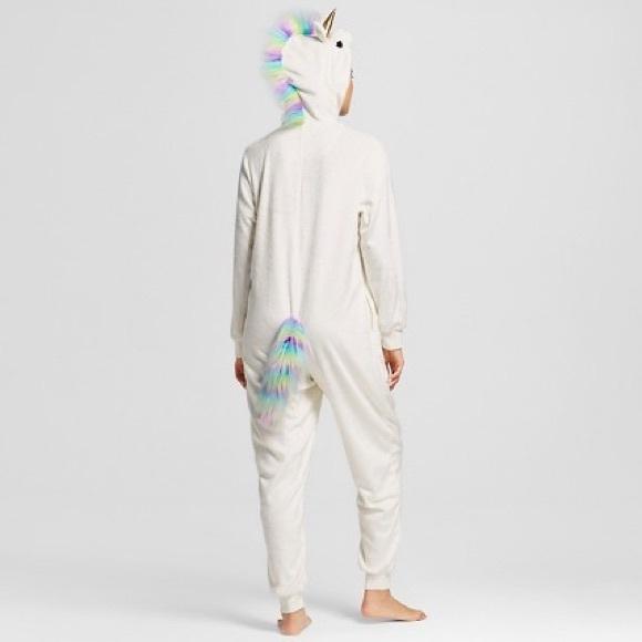 Target Intimates Amp Sleepwear Unicorn Onesie Pajama Suit
