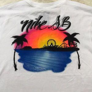 Nike Shirts - Nike SB Dri-fit Men's Airbrush T-shirt Medium