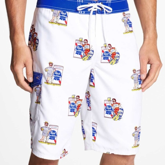 ef56bfd6b1 Pabst Blue Ribbon Board shorts NWOT. M_59432120c284562db700a5a0. Other  Swims you may like. Men's O'Neill Board Shorts/Swim Trunks