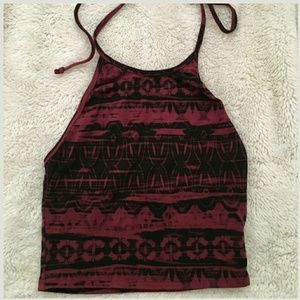 Urban outfitters print halter