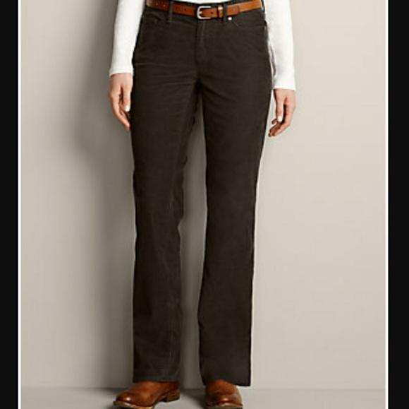 aff4b7df Eddie Bauer Pants | Curvy Bootcut Corduroy 14 Tall | Poshmark